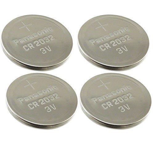 [ 4 pcs ] -- Panasonic Cr2032 3v Lithium Coin Cell Battery Dl2032 Ecr2032
