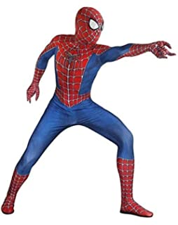 JUFENG Nuevo Adulto Niños Spider-Man 2019 Traje De Halloween ...