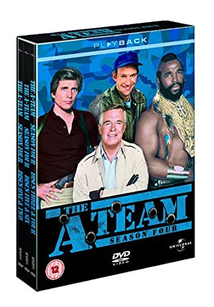 The A-Team: Series 4 [DVD]: Amazon co uk: George Peppard, Dwight