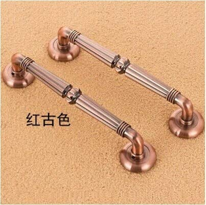 310mm antique copper Ktv Office,Hotel Home wood glass door pulls handles red bronze big gate door handles by Kasuki (Image #1)