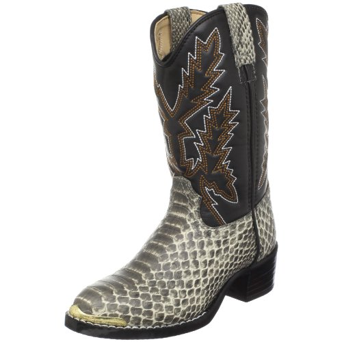 Durango Kids BT813 Lil' 8 Inch,Tan Snake,12M Little Kid (Durango Print Gloves)