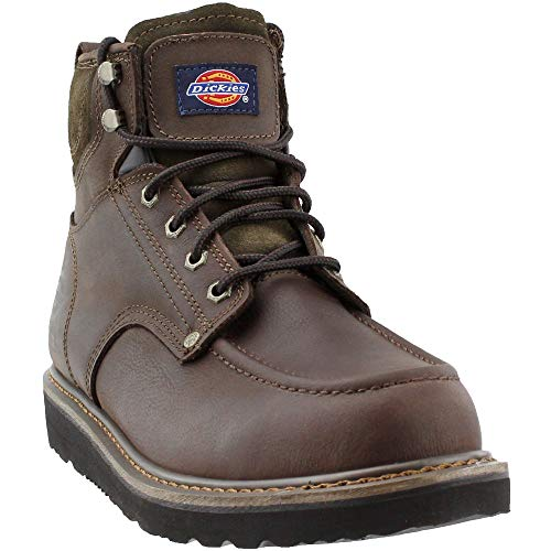 Dickies Boots Safety - Dickies Men's Outpost Work Boot, Brown, 11 M US
