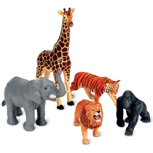 Learning Zoo (Learning Resources Jumbo Jungle Animals)