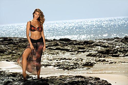 Feba Mujer Vestido de Playa F42 Patrón-315