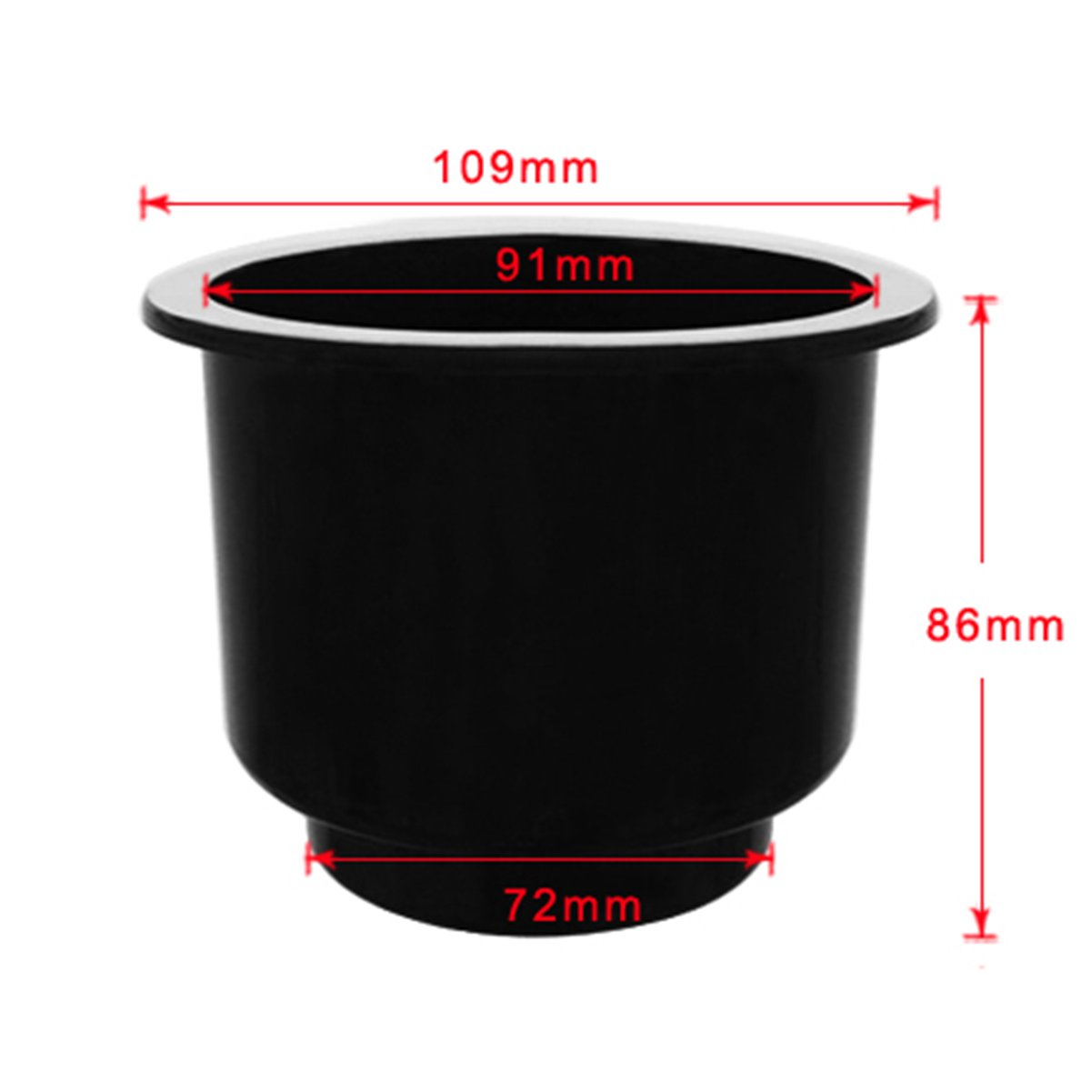 Amazon.com: WINOMO Black Recessed Cup Drink Holder Cup Holder for SUV Truck Camper Rv Trailer(Black): Automotive