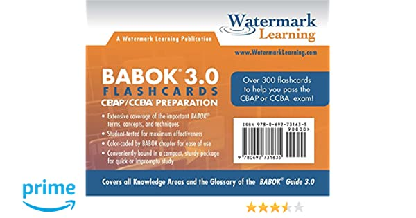 watermark learning cbap study guide
