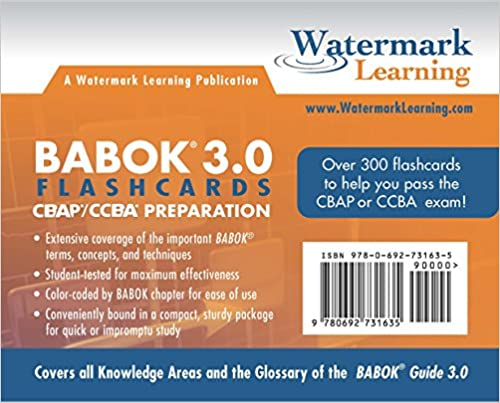 BABOK 3.0 Flashcards
