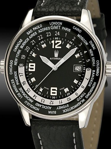 Astboerg Watch Germany Swiss-Swiss GMT CONVECTOR AT610GMTSS