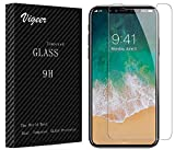 Image of Vigeer KKA110201 0.3 mm Bubble-Free, 9H Hardness, Easy Installation, HD Clear Tempered Glass Screen Protector for iPhone X/10