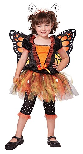 California Costumes Magnificent Monarch Costume, One Color, 4-6/Large (Monarch Butterfly Costume)