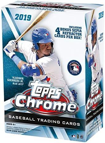 Topps Chrome Baseball Retail Blaster product image