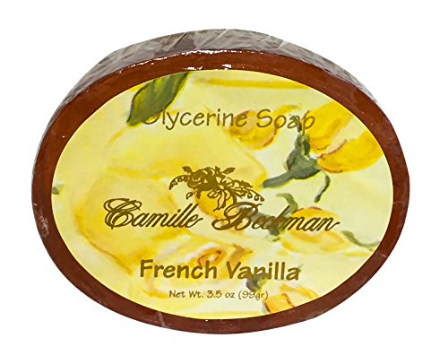 - Camille Beckman Glycerine Bar Soap, French Vanilla, 3.5 oz