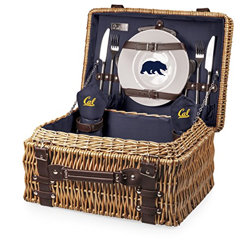 NCAA California Golden Bears Champion Picnic Basket with Deluxe Service for Two, ()