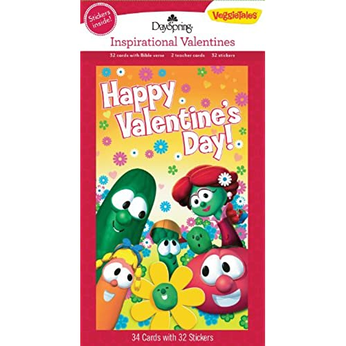VeggieTales Happy Valentine's Day Cards Sales
