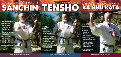 Chuck Merriman's Goju Ryu 3 DVD Box Set by Risng Sun Productions