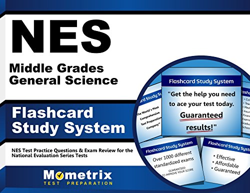 NES Middle Grades General Science Flashcard Study System: NES Test Practice Questions & Exam Review for the National Evaluation Series Tests (Cards)
