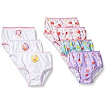 Peppa Pig girls Toddler Girls Combed Cotton Character Toddler 7pk Panty