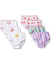 Peppa Pig Girls Combed Cotton Character Toddler 7pk Panty Panties - Multi