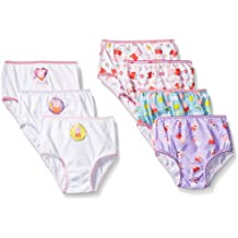 Peppa Pig Toddler Girls' Combed Cotton Character 7pk Panty
