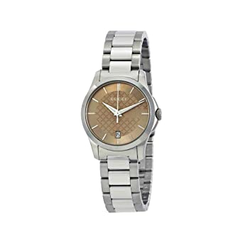 36963994c3e Image Unavailable. Image not available for. Color  GUCCI G-TIMELESS QUARTZ SMALL  watch YA126526