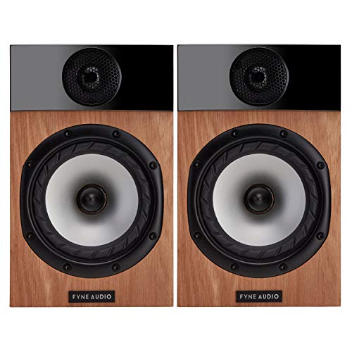 Fyne Audio F300 Bookshelf Speakers – Oak