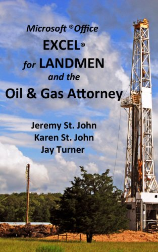 amazon com excel for landmen and the oil gas attorney ebook