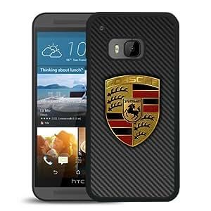 HTC ONE M9 Case,100% brand new Porsche logo 4 Black Case For HTC ONE M9