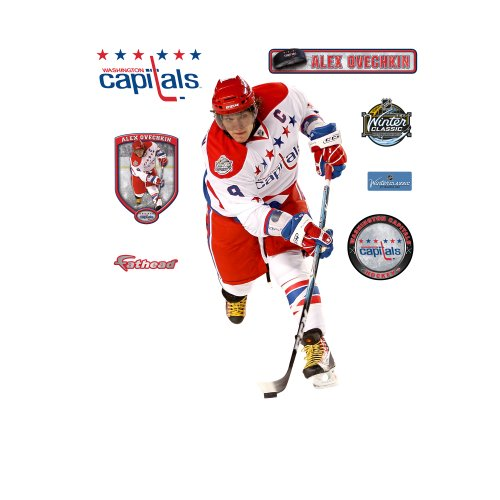 NHL Washington Capitals Alex Ovechkin Wall Graphic