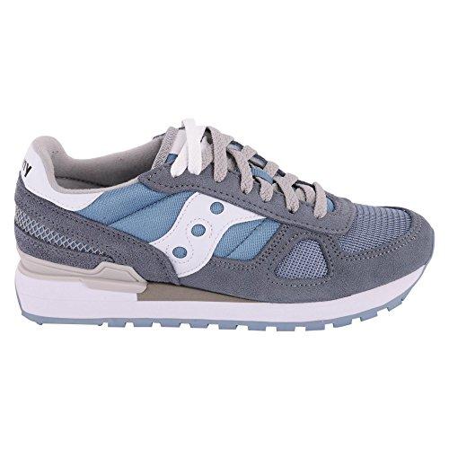 BlueWhite SAUCONY bianco 678 SHADOW sneakers azzurro S1108 donna ORIGINAL scarpe anaUPvA