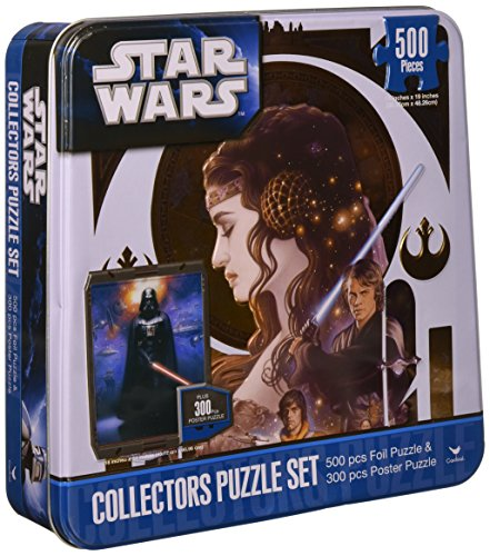 (Star Wars COLLECTABLE TIN 2 Puzzle Set)