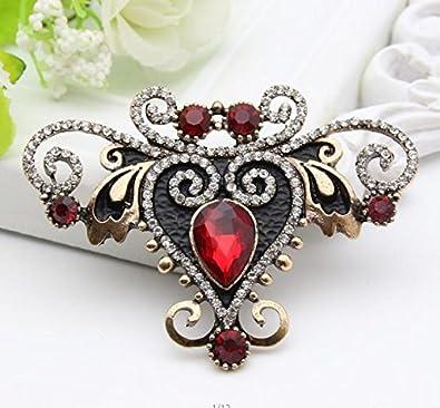 0f36148a86 Amazon.com: Wholesale Vintage Turkish Women Flower Resin Brooch Pin ...