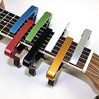 Kentop Cejilla Capo para Guitarra Electrónica Clásica Acústica,8 ...