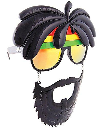 Rasta Man Sunglasses For Men Sun-Staches UV400 Protection