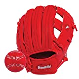 Franklin Sports  RTP Teeball Performance Gloves & Ball Combo, 9.5""