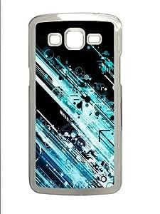 Circles And Lines Custom Samsung Grand 7106/2 Case Cover Polycarbonate Transparent