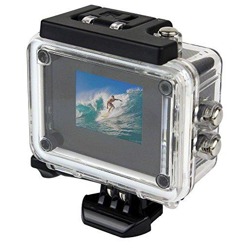 Caméra sport action étanche ECRAN 1.5'' HD 1080p grand angle 140° 4 Go