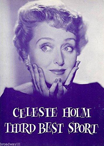 "Celeste Holm (Signed) ""THIRD BEST SPORT"" Andrew Duggan 1958 Souvenir Program"