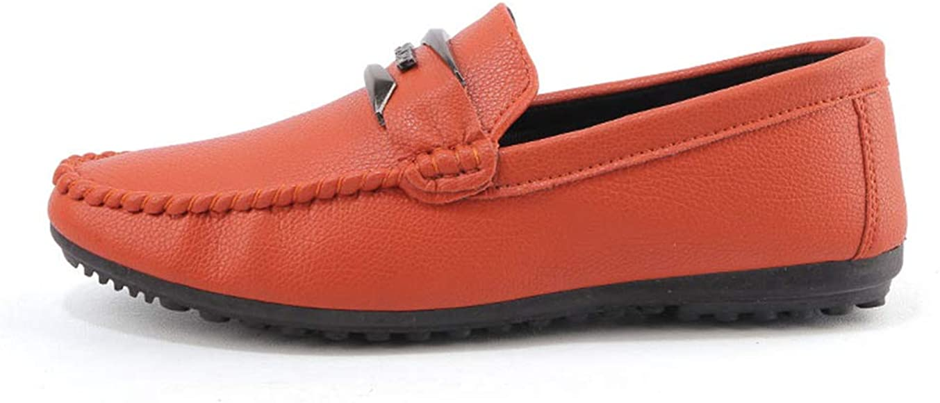 CHENJUAN Shoes Mens Driving Loafer Casual Breathable Shoes with Soft Soles are Not Slippery Boat Moccasins