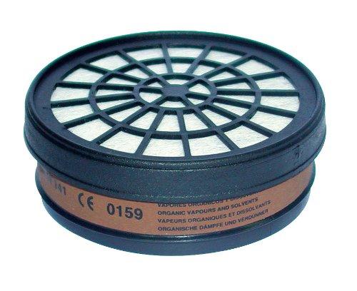 Mecafer 154285 Filtre A1 pour masque de protection (gaz acides, hallogè nes) hallogènes)