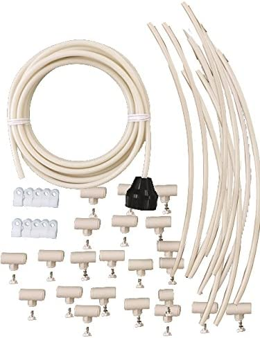 Mistcooling Patio Misting Kit, Un-Assembled – 72 Feet 20 Nozzle