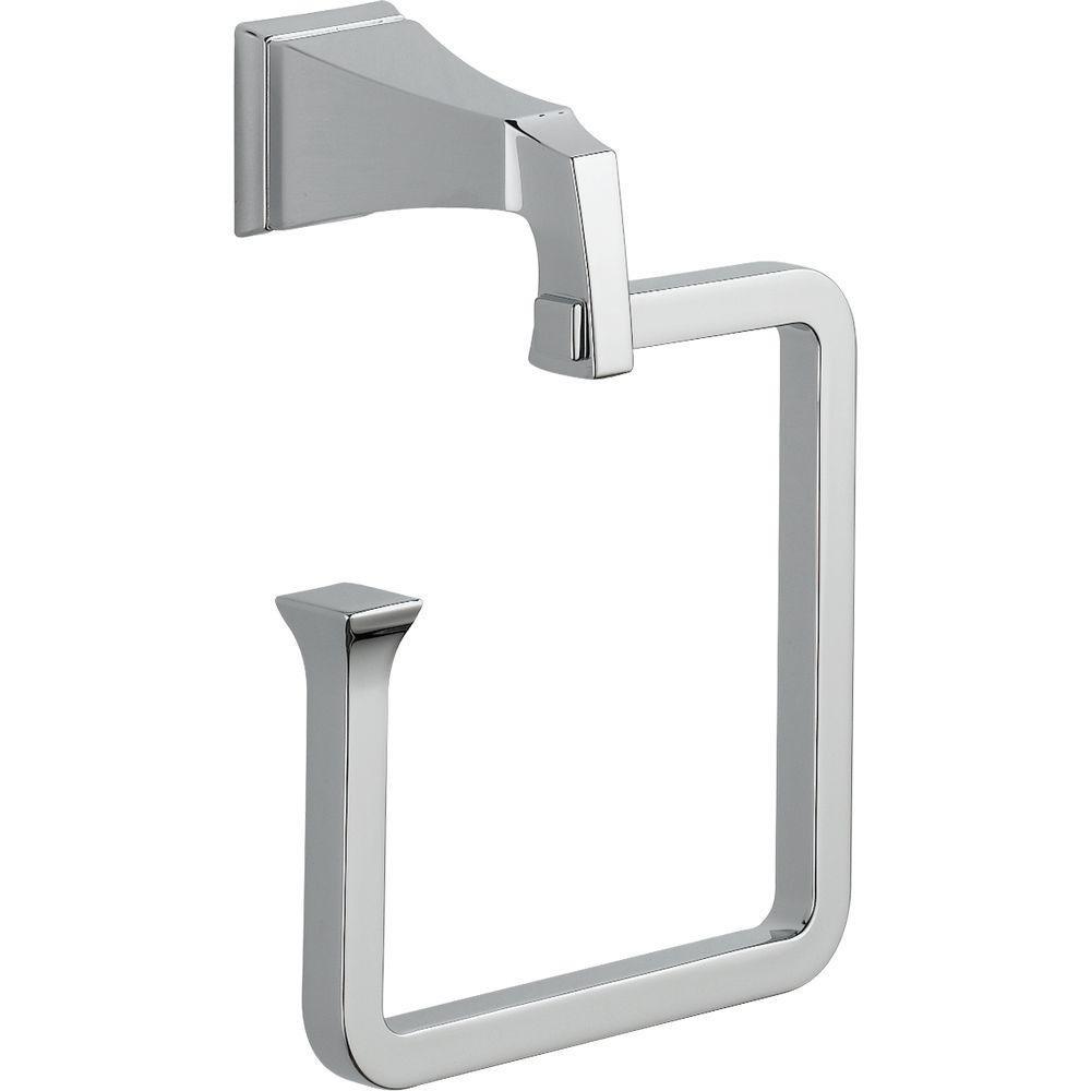 Delta Faucet 75146 Dryden Towel Ring, Chrome