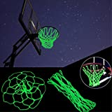 Light up Basketball Net Basketball Net Fluoresce Replacement Outdoor Kids Gift