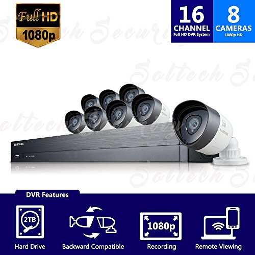 SDH-C75080REFM - Samsung 16 Channel 1080p HD 2TB - Samsung Security Camera Systems