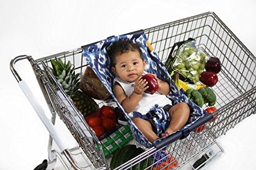 Binxy Baby Shopping Cart Hammock (Indigo Dream)