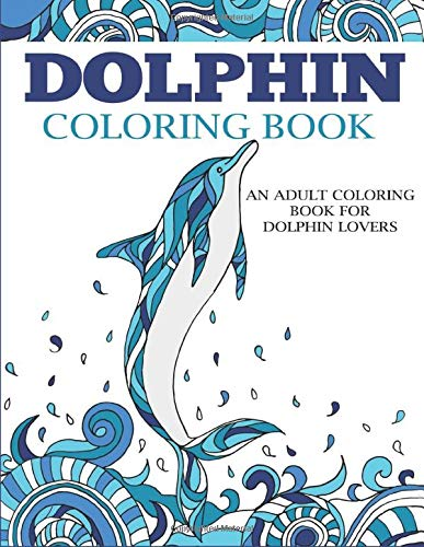Dolphin Coloring Book Lovers Adults product image