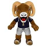 NFL Los Angeles Rams Rampage Mascot Plush Figure, 10″