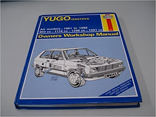 Yugo/Zastava All Models 1981-90 Owners Workshop Manual (Service & repair manuals) by Colin Brown (1990-09-03) Hardcover – 1750