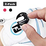 Sarissa Golf Score Counter 2 Packs, Mini Golf Stroke Counter One Touch Reset with Clip Simple Attachment to Scorekeeper Glove