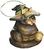 G. Debrekht Halloween Cat Figurine Ornament