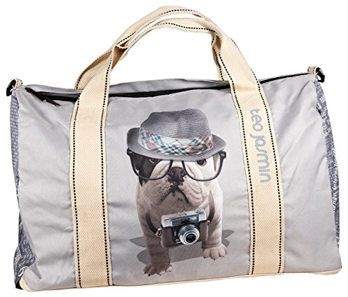 "Teo Jasmin ""Reporter"" Traveller Bag/Reisetasche - 31x50x25 cm"
